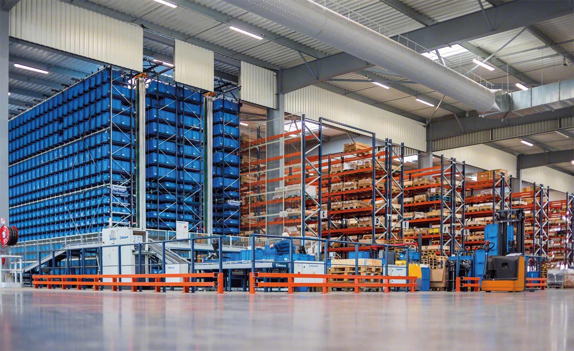 Los racks son el sistema de almacenamiento más eficaz para gestionar la mercancía