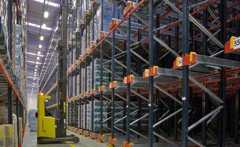 Mecalux finaliza el proyecto de almacenaje de un nuevo centro logístico de 20.000 m² en Portugal
