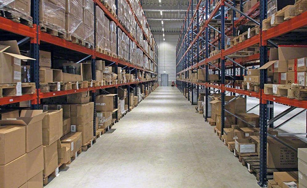 El acceso directo proporciona mucha rapidez a la gestión de la mercancía y a la preparación de pedidos