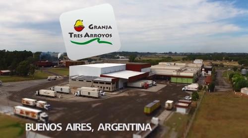 Caso práctico del cliente Granja Tres Arroyos: cámara de congelación autoportante