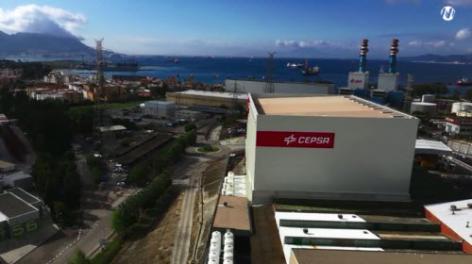 Mecalux ha construido un almacén automático autoportante con más de 4.500 m2 para Cepsa