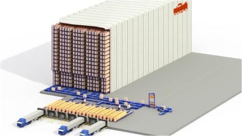 Mecalux construye un almacén autoportante automático preparado para el futuro