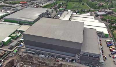 Mecalux construye uno de los centros logísticos con más altura de Europa