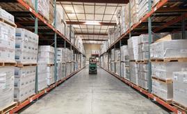 La nueva capacidad de almacenaje del almacén de Desert Depot es de más de 16.000 tarimas, casi el doble de la capacidad original