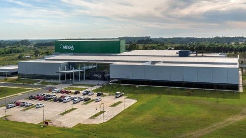 La farmacéutica Mega Pharma se posiciona a la vanguardia tecnológica con un almacén autoportante completamente automático