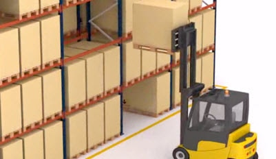 Funcionamiento del sistema de rack selectivo