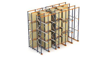 Racks drive-in: el almacenamiento de tarimas por acumulación
