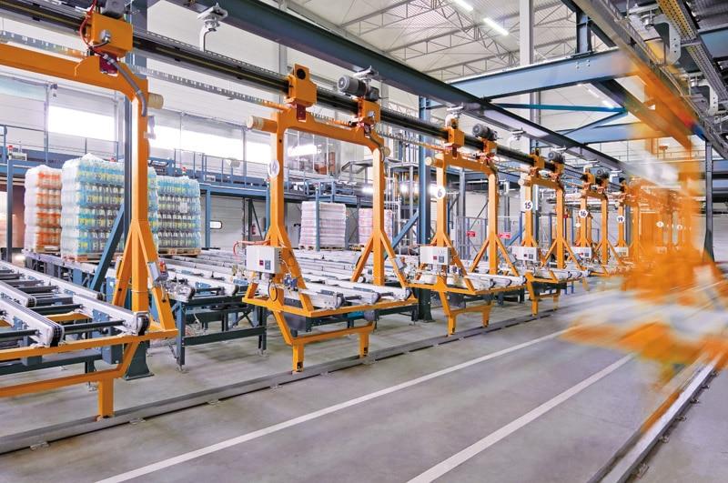 Los carros se ponen en funcionamiento cuando sean necesarios.