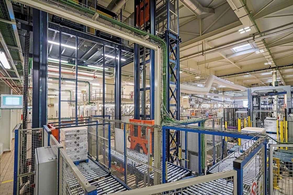 La automatización de procesos en el almacén reduce los tiempos de entrega