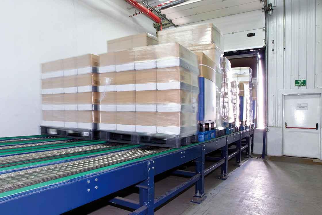 Las plataformas de carga automática permiten acelerar todo el proceso de despacho de mercancías
