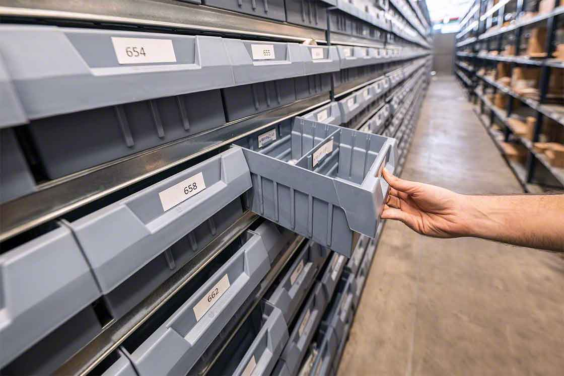 El 'batch picking' registra buenos resultados cuando los productos se manejan de forma manual y tienen tamaños similares