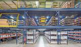 Mezzanine industrial metálico