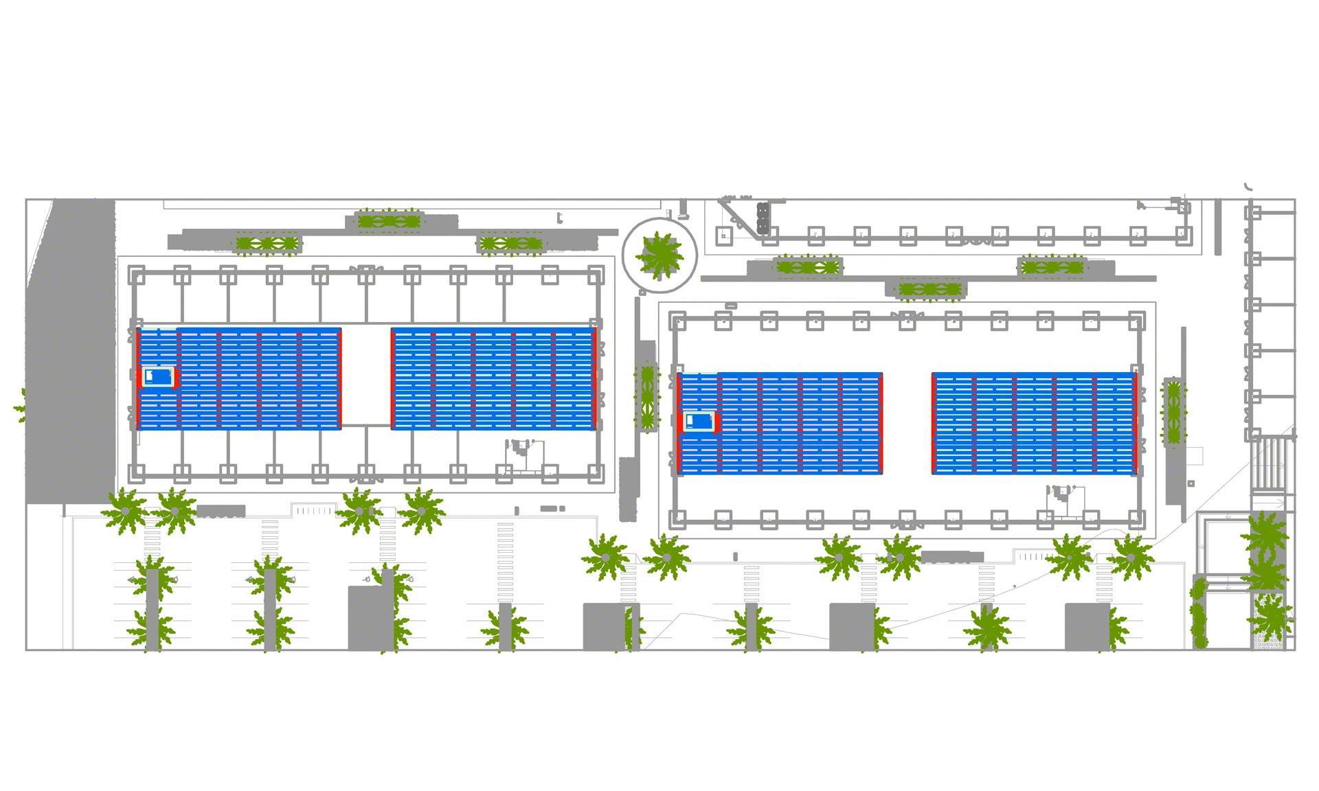 Mecalux equipará el centro comercial que Almenara Mall posee en Uruguay con un mezzanine industrial metálico