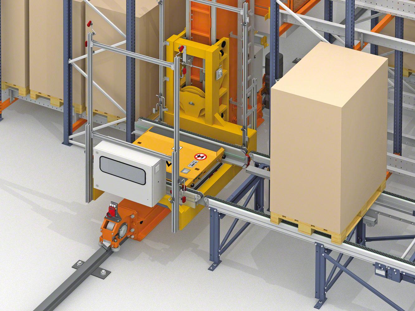 Mecalux equipará dos almacenes de Lanxess con Pallet Shuttle en Alemania