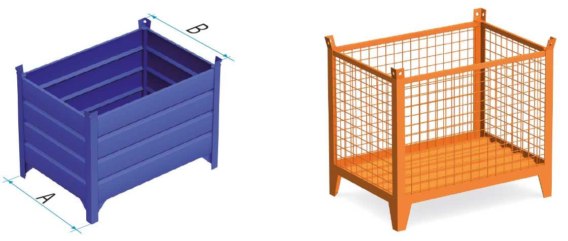 La contenerización consiste en introducir y alojar los productos en el interior de contenedores