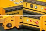 El sistema Pallet Shuttle dispone de numerosos elementos de seguridad como la seta de emergencia