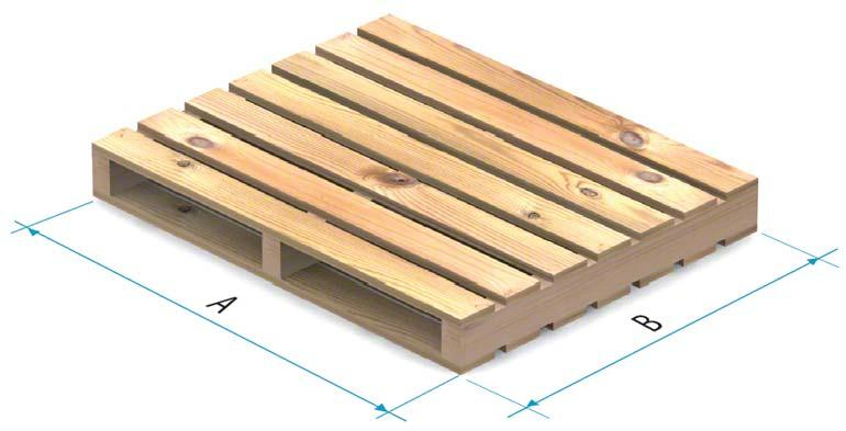 Tarima de madera tipo 4